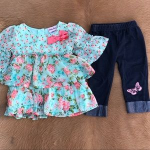Little Lass Toddler Set Size 3T